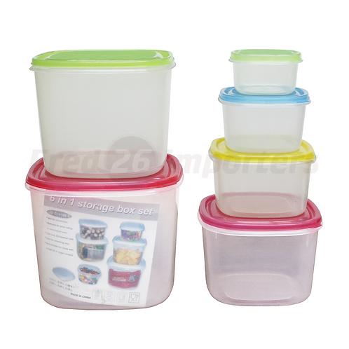 6-in-1 Food Storage Set