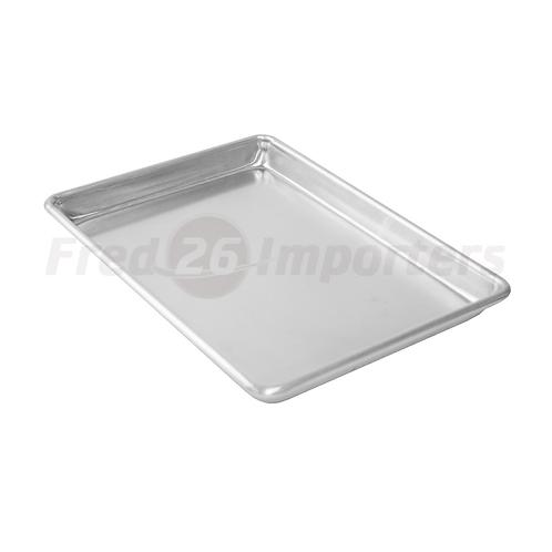 """9.5""""x 13"""" Aluminum Sheet Pan, Quarter Size"""