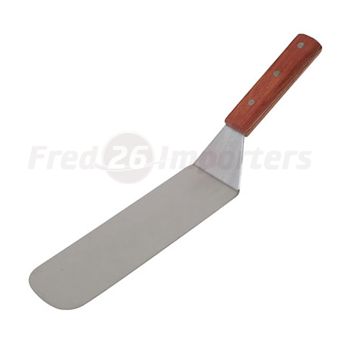 Flexible Turner with Offset, Wooden Handle