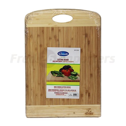 "Bamboo Cutting Board 16.9"" x 11.8"""
