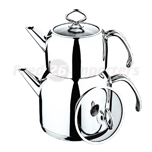 Double Teapot (Wire Handle)