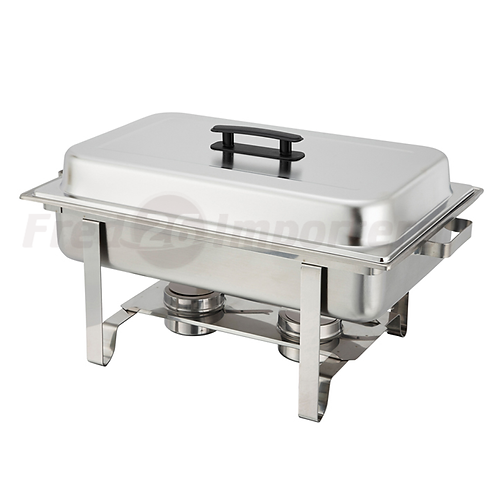 8Qt. Full Size Stainless Steel Chafer