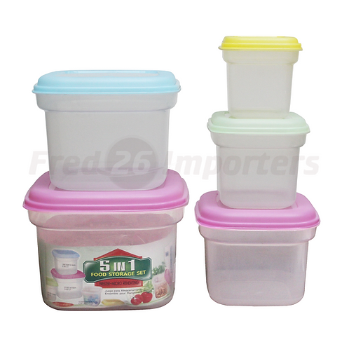 5-in-1 Food Storage Set