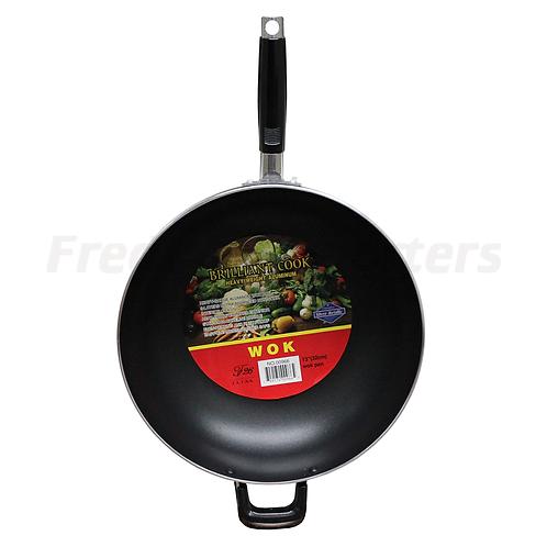 "Brilliant Cook 13"" (32cm) Wok Pan"
