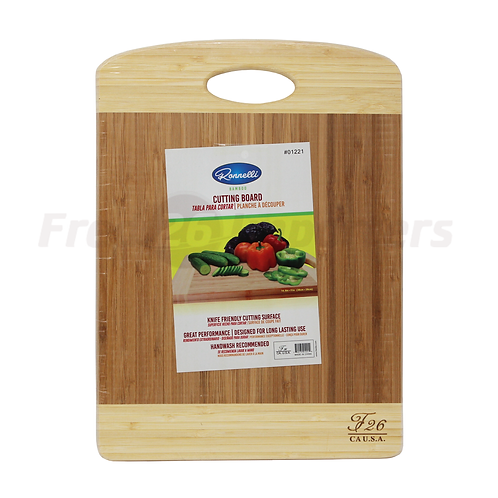 "Bamboo Cutting Board 14.9"" x 11"""