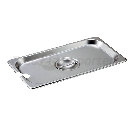Third Size Slotted Cover for Steam Pans