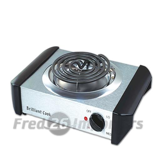 Brilliant Cook S/S Single Burner