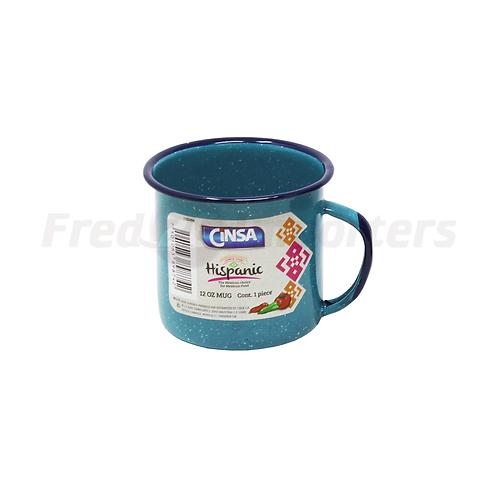 12oz. Mug Turquoise Blue