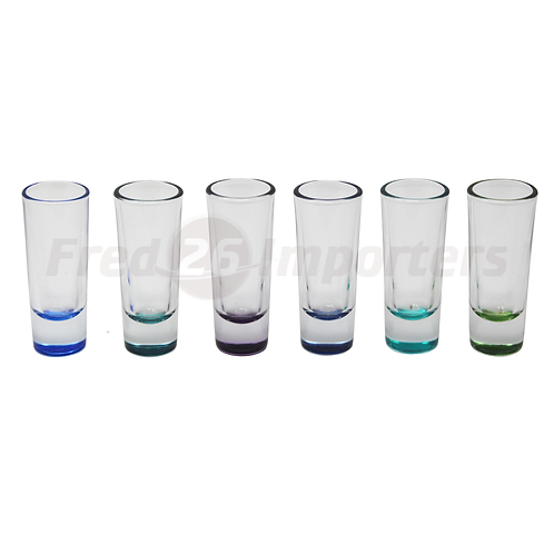 Libbey Sea Splash Shot 6Pc. Set