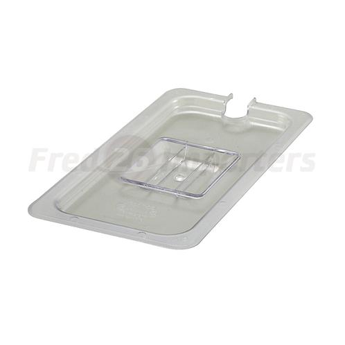 Third Size Slotted Cover for Polycarbonate Food Pan
