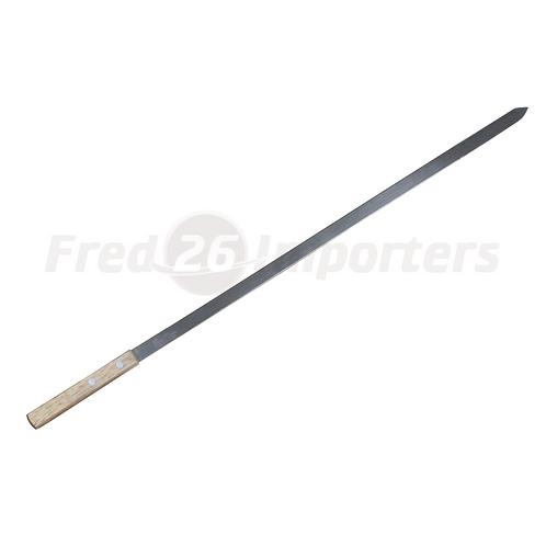 """5/8"""" S/S BBQ Skewer w/ Wood Handle (BULK)"""