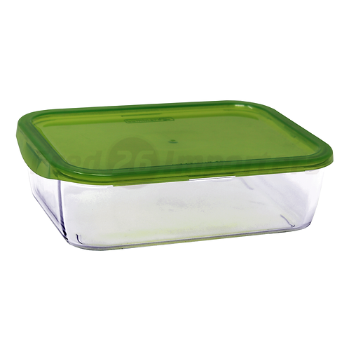 Luminarc 8.3 Cups Rectangle Keep N' Box Container with Lid