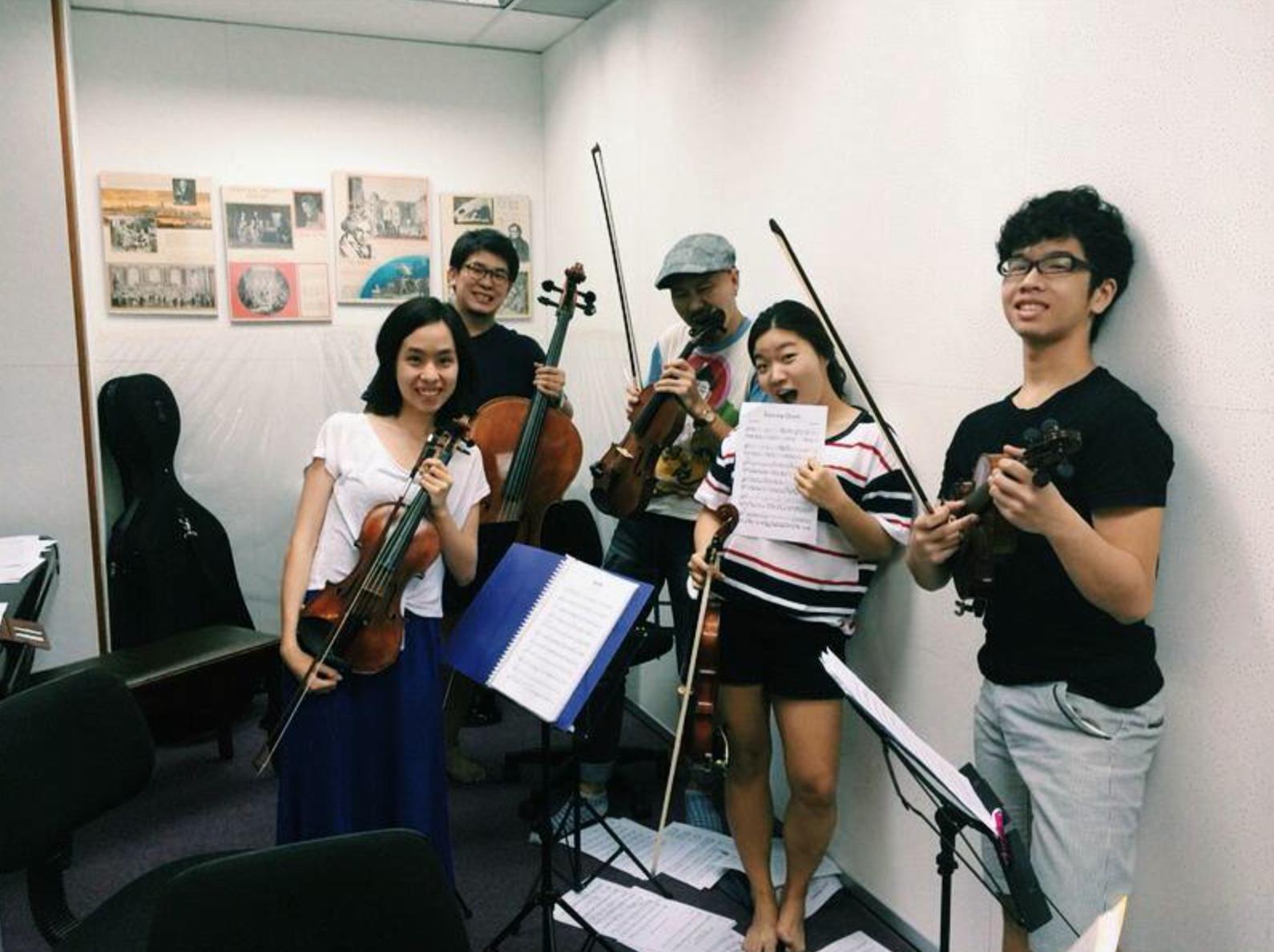 Hummingbird - Y String Quartet 2