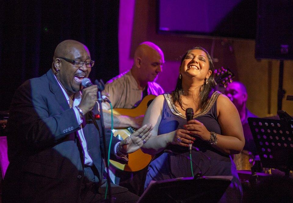 Hummingbird Vocalist - Richard Jackson & Alemay Fernandez