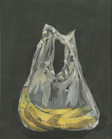 Banana's in Plastic Bag