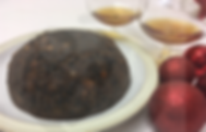 Gluten-free dairy-free egg-free vegan-friendly portion of pear and blackberry cobbler