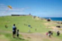 Kite Flying at El Morro | Enchanted Island Travels