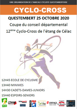 CYCLO-CROSS QUESTEMBERT 25 OCTOBRE 2020