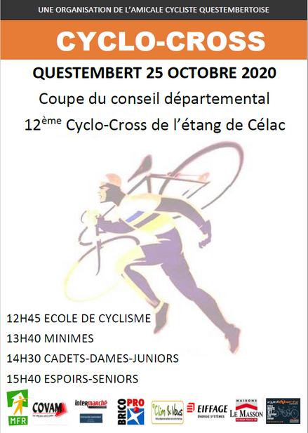 CYCLO-CROSS QUESTEMBERT 25 OCTOBRE 2020