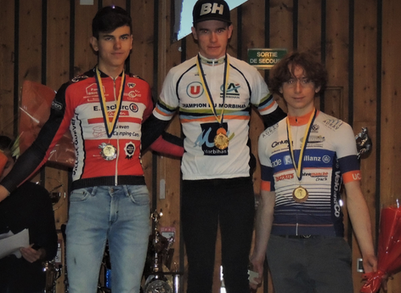 Champion du Morbihan de cyclo-cross Juniors !