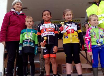 Layann et Noham : début de saison cyclo-cross très prometteur !