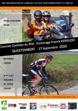 """Course cycliste du Rhé """"Hommage Franck Kerdudo"""" Dimanche 27 Septembre"""