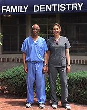 Dr Jacqueline Richmond and Dr. Collis Johnson