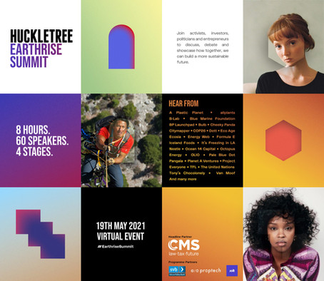 Inside The Earthrise Summit, Huckletree's 1st Virtual Sustainability Festival