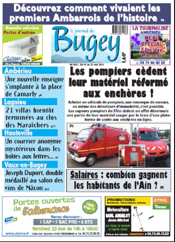 Journal Bugey Hauteville