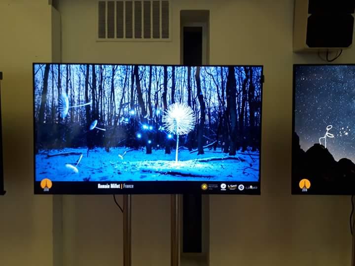 UNESCO Exposition light painting Paris (1)
