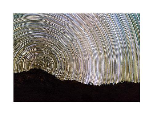 Star Trails San Francisco