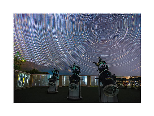 Star Trails Telescopios