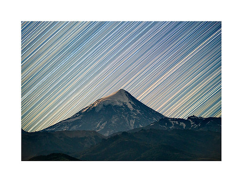 Star Trails en el Lanín