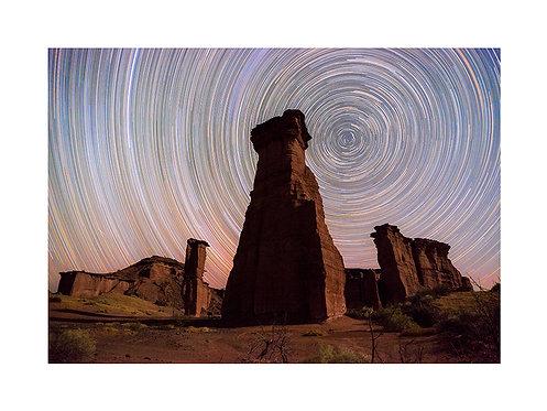Star Trails Talampaya