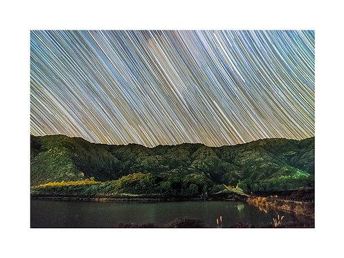 Star Trails Piscu Yacu