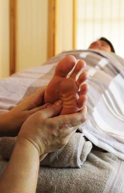 Feet Massaging