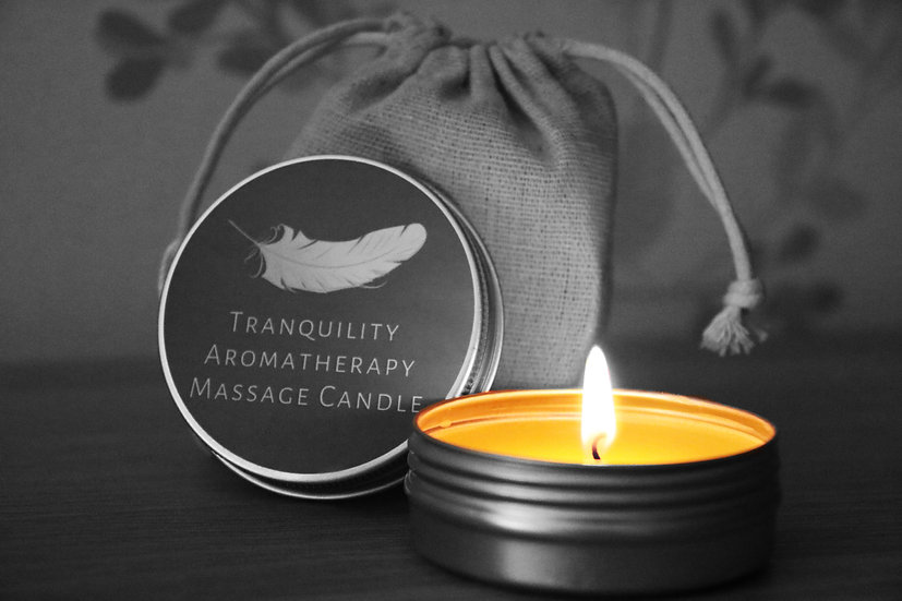 Tranquility Aromatherapy Massage Candle Cheltenham
