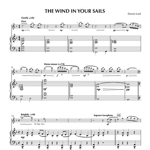 THE WIND IN YOUR SAILS (Piccolo, Flute, Clarinet, Soprano Sax, Alto Sax)