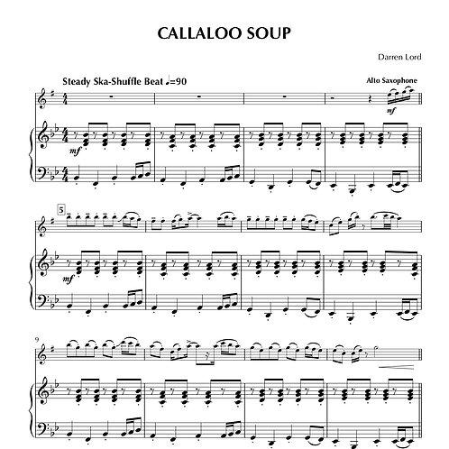 CALLALOO SOUP (Flute, Clarinet, Alto Sax)