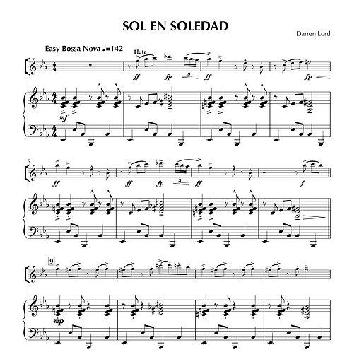 SOL EN SOLEDAD (Flute, Clarinet, Baritone Sax/Bass Clarinet)