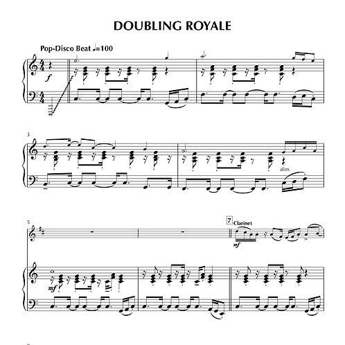 DOUBLING ROYALE (Flute, Clarinet, Alto Sax)
