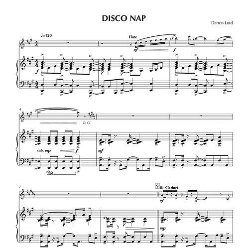 DISCO NAP (Flute, Clarinet, Alto Sax)