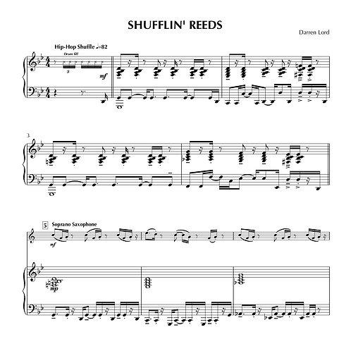 SHUFFLIN' REEDS (Flute, Clarinet, Soprano Sax, Tenor Sax)