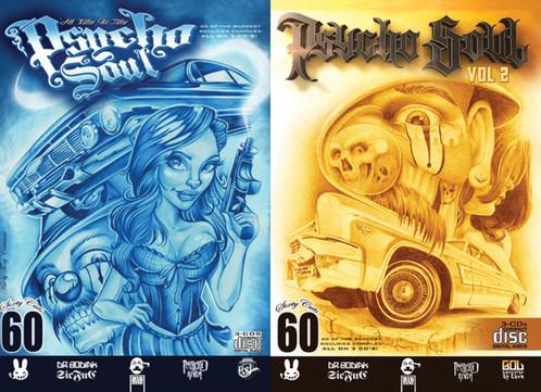 Psycho soul vol. 2 rare oldies triple disc compilation by big duke.