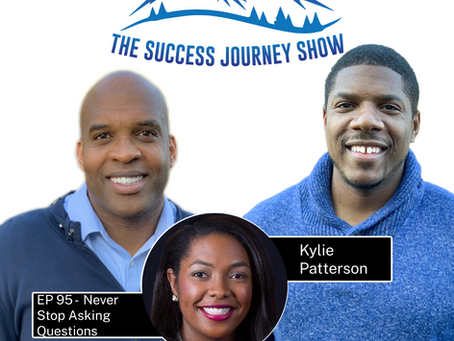 EP 95 - Never Stop Asking Questions w/Kylie Patterson