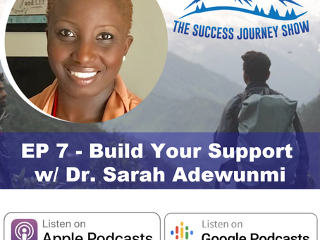 Military Physical Therapist | EP 7 - Build Your Support w/ Dr. Sarah Adewunmi