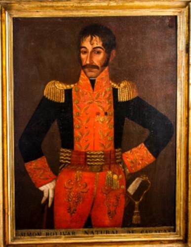 Simón Bolívar natural de Caracas