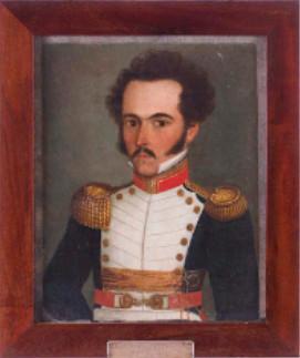 Simón Bolívar a los 26 años