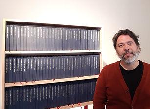 Obra de David Medina en la Biblioteca Nacional