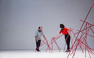 Performance en el Salon Nacional Artistas
